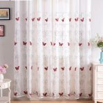 Girls Curtains Red Beautiful 100x200cm | Edit Home