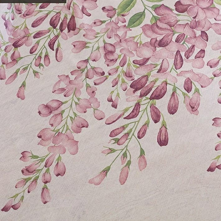 Different Wisteria Flower Curtains