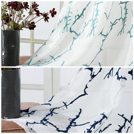 living room curtains Embroidered perfect  200 x 250 cm | Edit Home UK