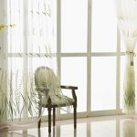 Rustic Rice Spike Embroidered Curtains