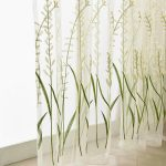 260x200 Rustic Rice Spike Embroidered Curtains