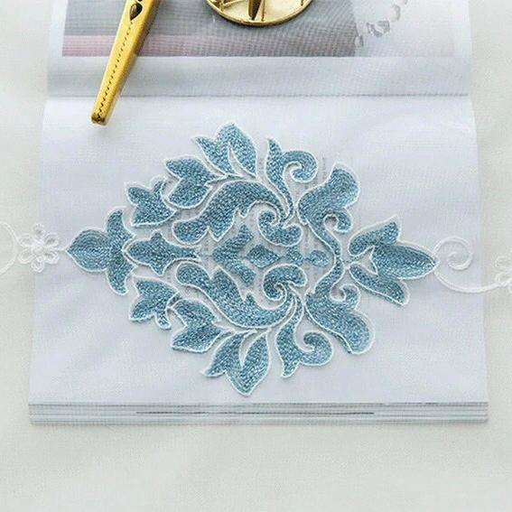 Pastoral Embroidered Gauze
