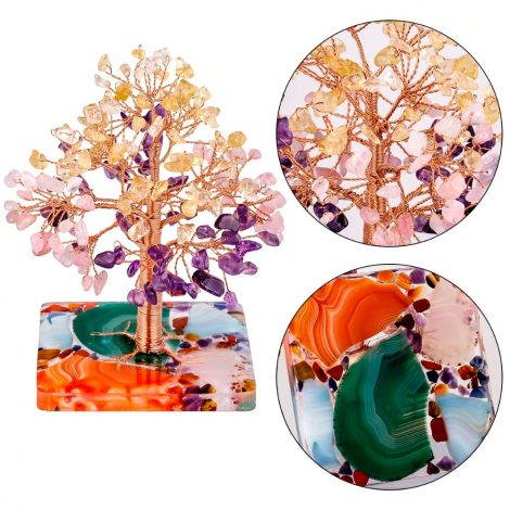 Fengshui Home Décor Money Tree/ Crystal Money Tree