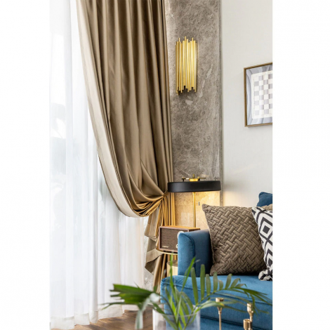 9 descript europe gold silk blackout curtains for living room luxury solid thick curtain window treatment for bedroom kitchen blinds